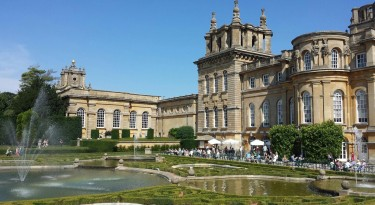 blenheim palace woodstock cotswolds