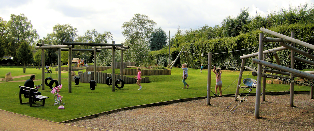 chipping campden recreational ground playground cotswolds