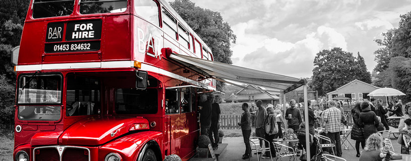 Big Red Bar Bus