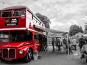 Big Red Bar Bus