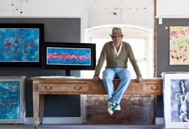 Artist Jeremy Houghton