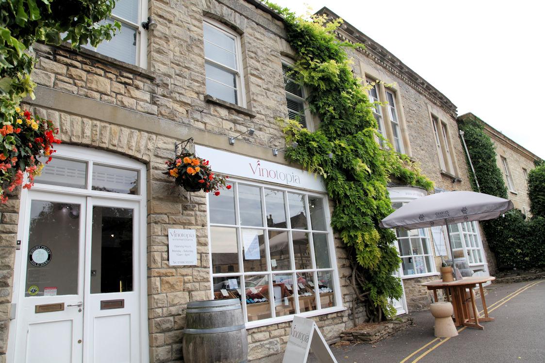 Vinotopia Wine Shop Tetbury